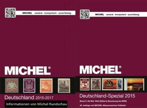 Michel 2015-2017 GERMANY SPECIAL. CATALOG.