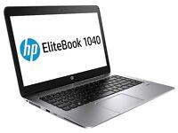 "HP EliteBook Folio 1040 G2 14"" 8GB i7-5600U 256GB SSD 4G LTE Laptop Ultrabook NEW WARRANTY"