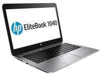"HP EliteBook Folio 1040 G2 14"" 8GB i7-5600U 256GB SSD 4G LTE Laptop Ultrabook NEW WARRANTY"