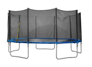 **NEED GONE** 12ft trampoline with protective netting