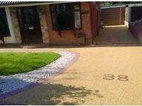 Resin driveways, blockpaving, artificial lawns