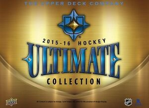 2015-16 Upper Deck Ultimate Hockey Trading Cards Hobby Box Kitchener / Waterloo Kitchener Area image 1