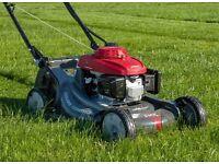 Grass cutting, garden services
