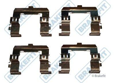 Brake Pad Fitting Kit fits FORD RANGER 2.5D Front 99 to 12 Brakefit Quality New
