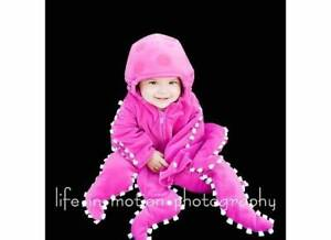 Adorable Baby Octo Halloween Costume Size 3 - 6 mos