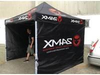 Motorcross tent