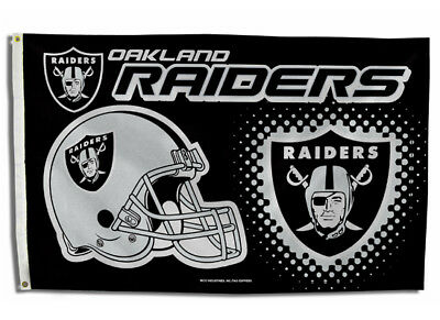 OAKLAND RAIDERS FLAG 3