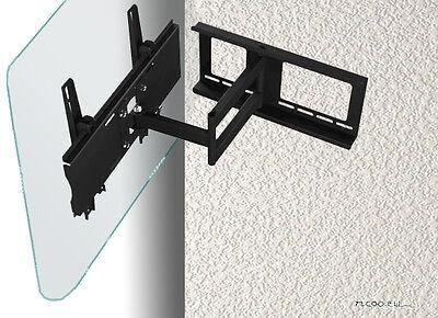 Bildschirm-Ausrichtung durch eine schwenkbare Wandhalterung