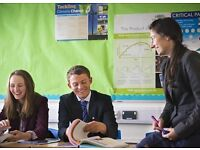 Business Studies Tutor required immediately, good rates of pay - hours to suit