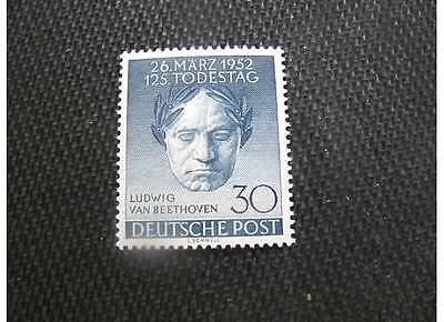 GERMANY/BERLIN 1952 SC# 9N80 BEETHOVEN SET MNH OG CAT. $42.50