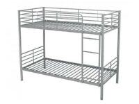 SINGLE METAL BUNK BED FRAME WITH MATTRESSES AVAILABLE CASH ON DELIVERY