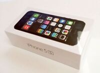 IPHONE 5S , BRAND NEW, SEALED BOX, UNLOCKED FACTORY UNIVERSAL