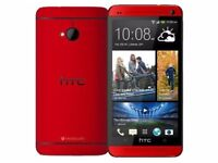 New Factory Unlocked HTC One M8 Red 16GB Android Phone sealpack
