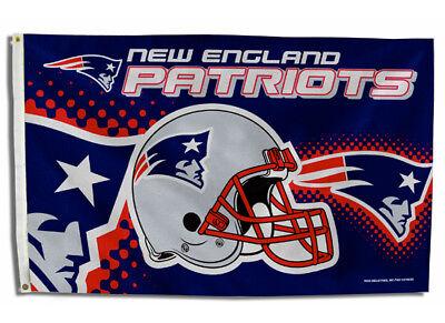 NEW ENGLAND PATRIOTS FLAG 3'X5' NFL HELMET BANNER: FREE - New England Patriots Helmet