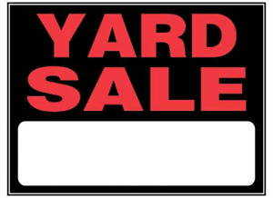 Looking for off the path YARD/GARAGE SALES