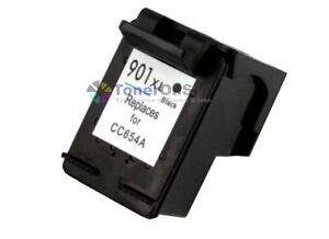 HP 901XL (CC654AN) High Yield Black Ink Cartridge for OfficeJet G510a Printer