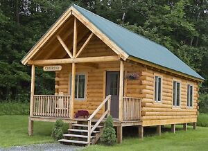 Moulded Timber Cabin/Bunkie Kit 12'x16'
