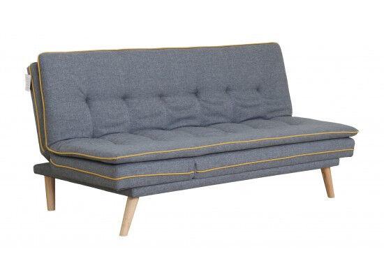 Grey Sofa Bed Fabric Modern Soga Futon Bargain