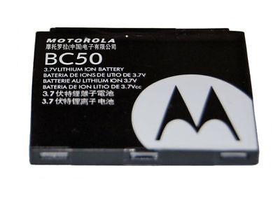 a-19-2 Batería original motorola bc50 para l2 l6 l7 v3x k1 z3 v1150-usado