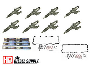 LB7 Duramax Remanufactured injector set. HD Diesel Supply