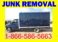 Need the lowest / Best Price Junk Removal? 1 866 586 5663