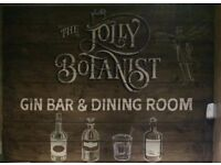 Job Opportunities @ The Jolly Botanist