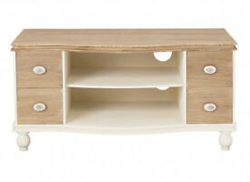 TV Unit, white, natural pine, grained finish, matching, Glass cabinet, display Unit, new in box,