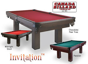 TABLE INVITATION 4' X 8' - CANADA BILLARD