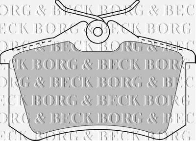 REAR BRAKE PADS SET BORG & BECK FOR AUDI A1 1.2 63KW