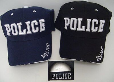 Awesome 100% Cotton Hat (AWESOME NEW ADJUSTABLE 100 % COTTON POLICE OFFICER LAWENFORCEMENT HAT CAP )