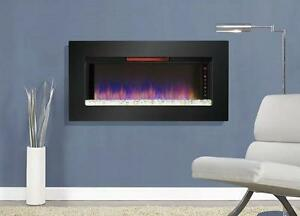 LORD SELKIRK FURNITURE  Classic Flame Felicity Infrared Electric Fireplace Wall Mount/Insert 47II100GRG  $649.00