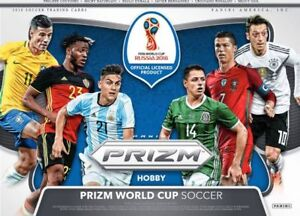 2018 Panini Prizm World Cup Soccer Available @ Breakaway