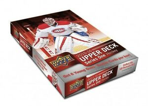 2015-16 UPPER DECK SERIES 1 HOCKEY HOBBY BOX FACTORY SEAL
