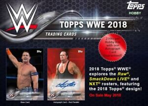 2018 Topps WWE Trading Cards Available @ Breakaway