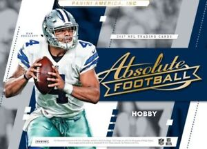 2017 Panini Absolute Football Now Available @ Breakaway