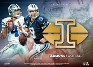 2017 Panini Illusions Football Now Available @ Breakaway