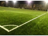 Referee's and players needed for new 8v8 Saturday football league