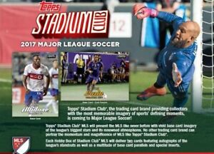 2017 Topps Stadium Club Soccer Now Available @ Breakaway