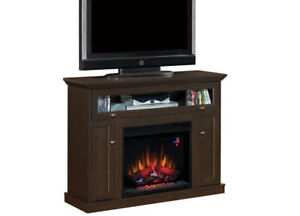 BRAND NEW - IN BOX Entertainment center with electric Fireplace