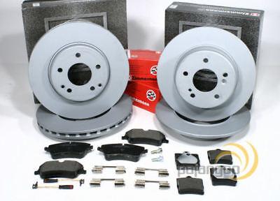 Mercedes SLK R171 - Zimmermann Bremsscheiben Bremsbeläge Sensoren vorne hinten*