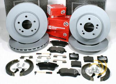 Mercedes Sportcoupe CL203 - Zimmermann Bremsen Set Handbremse vorne hinten