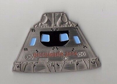 Original NASA Orion Capsule Space Launch Mission & Recovery USS Anchorage Coin