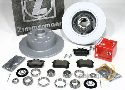 Audi A4 [B5] - Zimmermann Bremsscheiben ABS Ringe Bremsbeläge Radlager hinten online kaufen