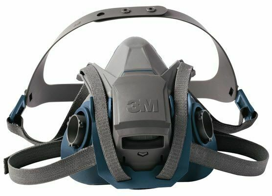 3M 6502QL Quick Latch Rugged Comfort Half Facepiece Reusable Respirator MEDIUM Business & Industrial