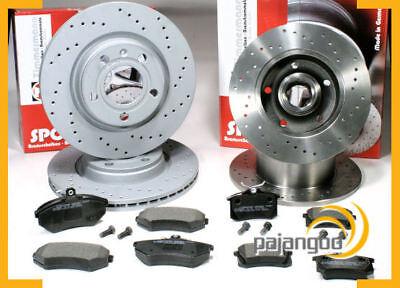 Audi A4 B5 - Zimmermann Sport Bremsscheiben gelocht Bremsbeläge vorne hinten* online kaufen