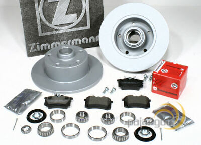 Audi A4 [B5] - Zimmermann Bremsscheiben Bremsbeläge Radlager für hinten online kaufen