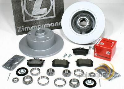 Audi A4 [B5] - Zimmermann Bremsscheiben Bremsbeläge Radlager Satz für hinten online kaufen