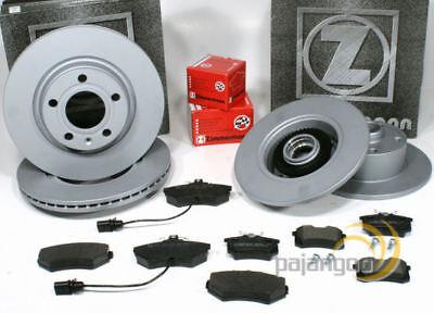 Audi A4 [B5] - Zimmermann Bremsscheiben mit ABS Ringe Bremsbeläge vorne hinten online kaufen
