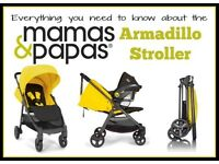 Mamas and papas armadillo pushchair