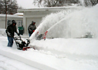 SRL snow blowing and maintenance